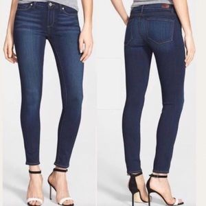NWT PAIGE SKINNY ANKLE JEANS